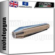 Gpr Exhaust Hom Ultracone Cafe Racer Stainless Steel Honda Xl 125 G 1981 81