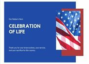 Celebration Of Life Our Nationand039s Hero Funeral Guest By Elite Online Publishing