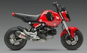 Yoshimura 2022 Honda Grom Rr Rs-9t Ss Full Exhaust W/ Ss Can And Cf Tip 12122ar520