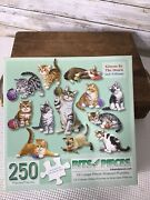 Bits And Pieces Set Of 12 Jigsaw Puzzles Kittens By The Dozen Complete 250 Pieces