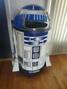 New.....rare Vintage 90s Star Wars Life Size R2d2 Pepsi Dome Cooler With Papers