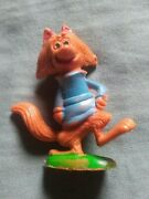 Vintage Imperial Toy Corp Plastic Fox Figure.