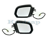 09-10 Gl And Ml-class Mirror Power Folding W/memory Signal Puddle Lamp Set Pair