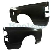 02-09 Ram Pickup Truck W/6' Bed Rear Fender Quarter Panel Left And Right Set Pair
