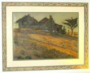 Antique Original Painting Signed By Fransisco Cornejo 20 X 18 Inches On Wood