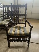 Charles Pollock 6 Dining Room Chairs