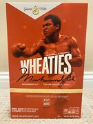 Wheaties Century Collection Gold Box 1 Muhammad Ali - Limited - Full Case