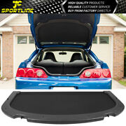 Fits 02-06 Acura Rsx Oe Style Black Trunk Privacy Luggage Cargo Cover