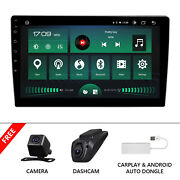 Dvr+carplay+cam+car Stereo Radio Bluetooth Smart Sync Your Android Device New Us