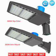 300w Led Parking Lot Light With Photocell Relace 1000w Hid Street Security Light