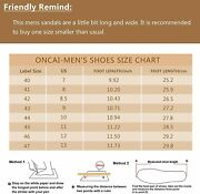 Oncai Menand039s-slide-sandals-beach-slippers-arizona Slippers Shoes Indoor And Outdo