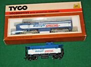 Tyco Ho Scale Midnight Special Shark Nose Diesel Engine And Caboose Item Ccho515