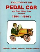 Vintage Pedal Car Riding Toys 1884-1970andrsquos - Makers Dates Values / Scarce Book