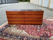 A Vintage Danish Mid Century Rosewood Double Dresser By Arne Wahl Iversen 1970and039s