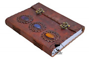 Rkh Leather Journal Writing Notebook Antique Handmade Leather Bound Daily For And