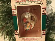 Enesco Christmas Ornament Home Sweet Home Cozy Cup First In Series Mouse New