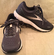 Brooks Ghost 13 Size 10 Wide Grey Pink Running Shoes 130 Women's