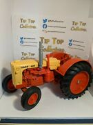 Vtg Die-cast Farm Tractor Case 600 Orange/yellow Condition Is Used Small Chips