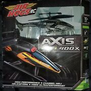 Air Hogs Rc Remote Control Axis 400x Helicopter - Unopened In Box