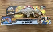 Jurassic World Spinosaurus Camp Cretaceous Extreme Chompin Action New In Hand 🦖
