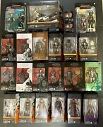 Star Wars The Black Series The Mandalorian Lot 1st Edition Exclusives New Vhtf