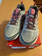 New Balance Women's Trail Running Shoes Wte412m3 Silver/pink Size 10 Wide