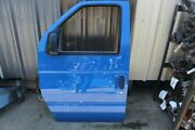 2012 Ford E150 Ecoline Van Left Driver Front Door And Side View Mirror