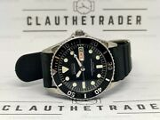 Pre-owned Seiko Diver 7s26-0050 Skx023j 10bar Automatic Men's Watch S.n 954347