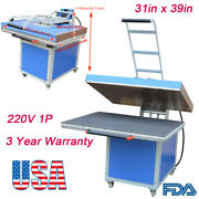31in X 39in Large Format Textile Thermo Transfer Heat Press Machine 220v Newest