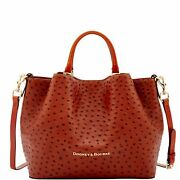 Dooney And Bourke Ostrich Large Barlow Bag