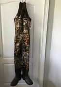 She Outdoor Waterfowl Boot Foot Waders For Ladies Size 10 W/o Belt