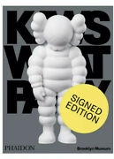 Kaws What Party Signed White Edition /500 Book Catalogue Brooklyn Sold Out