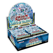 Yugioh Dawn Of Majesty 1st Edition Booster Box New Factory Sealed [preorder 8/13