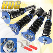 Adjustable Blue Lowering Coilovers Spring Upgrade System For 95-98 Nissan 240sx