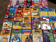 Leapfrog Leappad Learning System 23 Books And 20 Cartridges Reading Lot Quantum ++