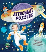 Astronaut Puzzles Puzzle Adventures By Stella Maidment - Hardcover Brand New