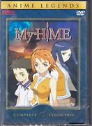 My-hime - Complete Collection Dvd, 2008, 7-disc Set, Anime Legends