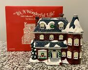 It's A Wonderful Life Christmas Village, Bedford Falls - 320 Sycamore - 1572