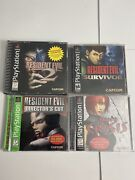Resident Evil And Dino Crisis Sony Ps1 Game Bundlesony Playstation 1 2000