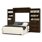 Pur 126 Queen Wall Bed Kit In Chocolate