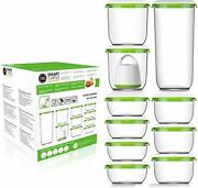 Fosa Vacuum Seal Food Storage System Reusable Container Deluxe Set With Vacuu...