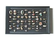 57 Piece Fashion Rings Rose Gold Filled + Yellow Gold Filled Costume Jewellery
