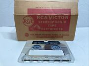 Nos Rca Victor Sound Tape Snap-load Tape Cartridge Box Of 18 Very Rare