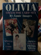 1993 Olivia Collector Cards Comic Images 90-cards Adult Set Rare