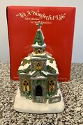It's A Wonderful Life Christmas Village - Bedford Falls Church 1573 - Excellent