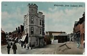 Old Postcard Whitstable From Ludgate Hill Kent W. J. Cox Vintage Used 1916