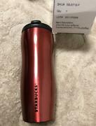 Starbucks 12 Oz Stainless Steel Tumbler Red 355 Ml With Box 2013 Japan New F/s