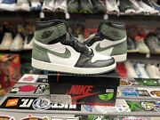 Nike Air Jordan Retro 1 Clay Green Size 12 Vintage Vtg Authentic Rare New Ds