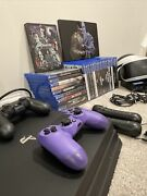 Sony Playstation 4 Pro 1tb Console + 30 Games + Vr