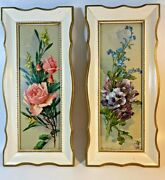 Turner Wall Accessory Kunzli Bros Floral Rose And Pansy Framed Prints Set Of 2